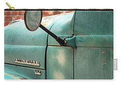 Carry-all Pouch featuring the photograph International Truck Side View by Heidi Hermes