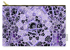 Carry-all Pouch featuring the digital art Interwoven by Ron Bissett