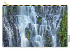 Carry-all Pouch featuring the photograph Intimate Burney Falls by Patricia Davidson