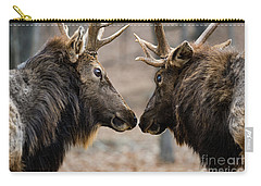 Carry-all Pouch featuring the photograph Intimidation by Andrea Silies