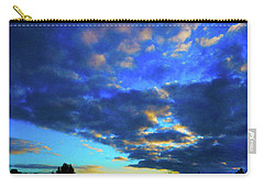 Into The Blue Carry-all Pouch by Mark Blauhoefer