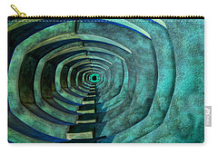 Carry-all Pouch featuring the photograph Into The Dark by Paul Wear