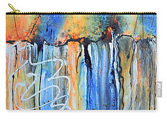 Into The Earth Carry-all Pouch by Nancy Jolley