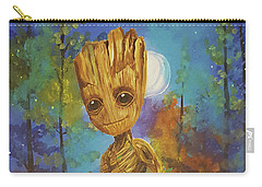 Into The Eyes Of Baby Groot Carry-all Pouch
