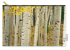 Carry-all Pouch featuring the photograph Into The Forest by Gary Lengyel