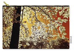 Carry-all Pouch featuring the photograph Into The Golden Sun by Linda Unger