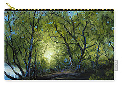 Carry-all Pouch featuring the painting Into The Light by Billie Colson