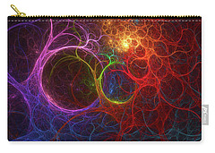 Carry-all Pouch featuring the digital art Into The Light by Deborah Benoit
