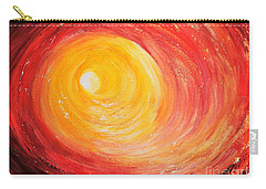 Carry-all Pouch featuring the painting Into The Light by Teresa Wegrzyn