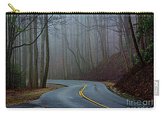Into The Mist Carry-all Pouch by Douglas Stucky