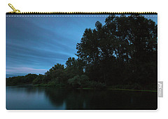Carry-all Pouch featuring the photograph Into The Night by Davor Zerjav