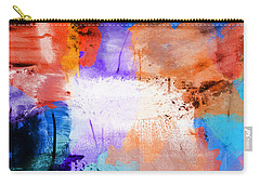 Carry-all Pouch featuring the painting Into The Open by Dan Sproul