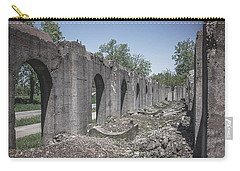 Carry-all Pouch featuring the photograph Into The Ruins 2 by Melissa Lane