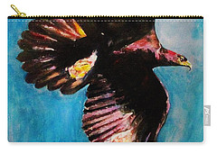 Into The Skies. Carry-all Pouch by Khalid Saeed