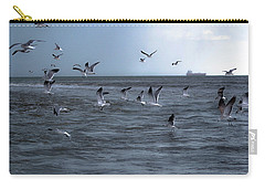 Carry-all Pouch featuring the photograph Into The Storm by Melissa Lane
