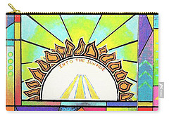Into The Sun Carry-all Pouch by Jeremy Aiyadurai