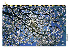 Carry-all Pouch featuring the photograph Into The Sun by Linda Unger