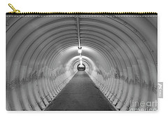 Carry-all Pouch featuring the photograph Into The Tunnel by Juli Scalzi