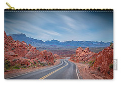 Into The Valley Of Fire Carry-all Pouch