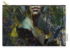 Carry-all Pouch featuring the photograph Into The Woods by Richard Ricci