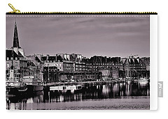 Carry-all Pouch featuring the photograph Intra Muros At Night by Elf Evans