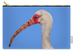 Carry-all Pouch featuring the photograph Intriguing Ibis .png by Al Powell Photography USA