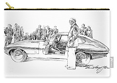 Introducing The 1962 Jag E-type Coupe Carry-all Pouch