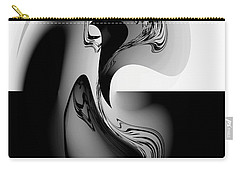 Introspection Digital Art Carry-all Pouch
