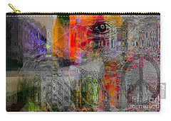 Intuitional Abstract Carry-all Pouch