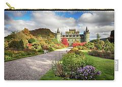 Inveraray Castle Garden In Autumn Carry-all Pouch
