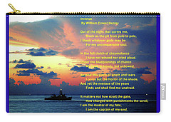 Invictus By William Ernest Henley Carry-all Pouch