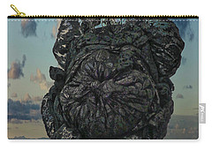 Carry-all Pouch featuring the photograph Invisable Lady by Joan Reese