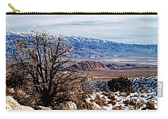 Carry-all Pouch featuring the photograph Inyo Mountains - Owens Valley by Glenn McCarthy Art and Photography
