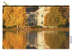 Iola Mill Fall Reflection Carry-all Pouch by Trey Foerster