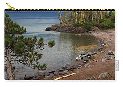 Carry-all Pouch featuring the photograph Iona's Beach by James Peterson