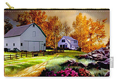 Iowa Farm Carry-all Pouch by Ron Chambers