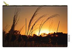 Iowa Prairie Sunset Carry-all Pouch