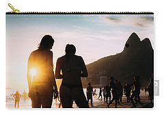 Ipanema, Rio De Janeiro, Brazil At Sunset Carry-all Pouch