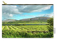 Ireland  - Burren Panorama Carry-all Pouch by Juergen Klust