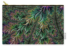 Iridescent Feathers Carry-all Pouch