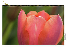 Carry-all Pouch featuring the photograph Iridescent Tulip by Mary Jo Allen