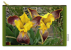 Iris As Birds Captured Carry-all Pouch