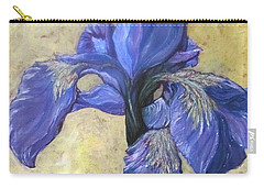 Iris Carry-all Pouch by Barbara O'Toole