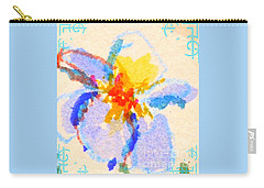 Iris Bloom Carry-all Pouch