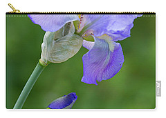 Iris Blue Carry-all Pouch