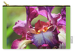 Iris Butterfly Carry-all Pouch