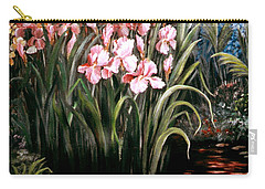 Iris By The Pond Carry-all Pouch