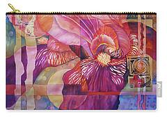 Iris Delight Carry-all Pouch by Lynda Hoffman-Snodgrass