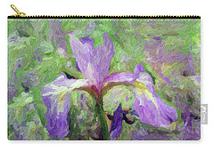 Iris Carry-all Pouch by Don Wright