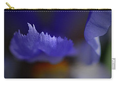 Iris Feathers Carry-all Pouch by Tim Good